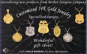 customized exclusive police jewelry