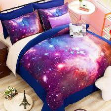 o 2 3 hipster galaxy 3d bedding sets universe outer space duvet cover bed