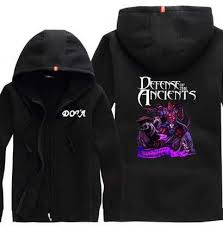 mens dota 2 game hoodie hero lycanthrope printed plus size