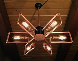 steampunk lighting. Apogee Chandelier | Transforming Copper Ceiling Lamp - Adjustable Dimmable  Steampunk Industrial Multifunctional Lighting Steampunk Lighting /