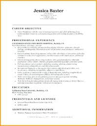 Resume Objective Example Entry Level Resume Objective Examples Objective For Resume Entry 59