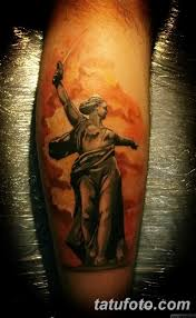 фото тату памятник родина мать 05022019 008 Tattoo Motherland