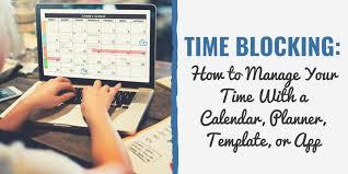 Calendar Blocking Template Time Blocking Template 8 Steps To Plan Your Calendar Like A