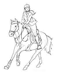101 horse coloring pages for kids