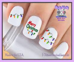 Christmas Light Nails String Holiday Christmas Christmas 816x Holiday Lights Merry Christmas Nail Decals Waterslide Nail Art Decals Highest Quality Made In Usa