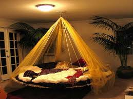 Image of: Large Round Indoor Hammock Bed