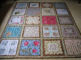 Handkerchief Quilts - Memory Quilts by Molly & Talk about family history! It is all about the stories hidden in their  folds, and people always enjoy a good story. Adamdwight.com
