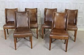 vintage leather dining chairs uk elegant classic tan leather antique style dining chair vintage