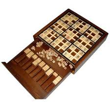Sudoku Wooden Board Game Instructions Know someone who's a Sudoku addict Then this is the obvious gift 1