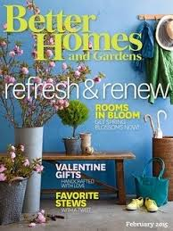 Small Picture Better Homes and Gardens Magazine February 2015 Eat Your Books