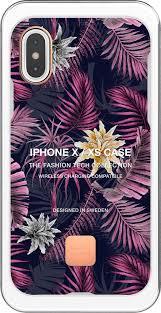 <b>Клип</b>-<b>кейс Happy Plugs для</b> Apple iPhone XS Hawaiian Nights