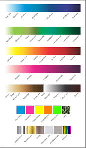 Promomania :: Colour Categories