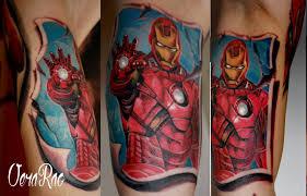 Imagespace Iron Man Tattoo Marvel Gmispacecom