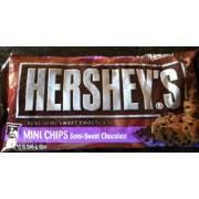hershey chocolate chips. Delighful Chocolate Hersheyu0027s Mini Chips SemiSweet Chocolate Throughout Hershey