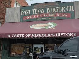 Image result for east texas burger co mineola tx