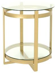 modern round glass coffee table modern round tempered glass coffee table brass finish contemporary coffee tables