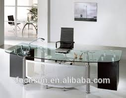 Desk glass top Modern Fkshded024 Modern Glass Top Office Desk Alibaba Fkshded024 Modern Glass Top Office Desk Buy Glass Top