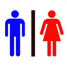 Male Female Bathroom Symbols Unique Decoration
