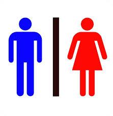 Male Female Bathroom Symbols Unique Decoration