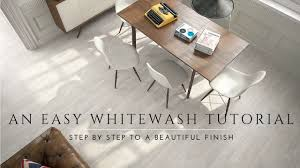 How To Whitewash And Seal A Wood Floor Diy Steps Milk Paint Lime