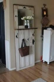 Old Door Coat Rack Coat rack out of an old door Clever way to expand a small space 17