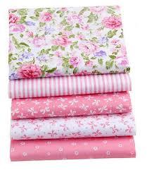 100% Cotton Fabric <b>Pink</b> Color <b>ShuanShuo</b> Brand Cotton Bundle ...