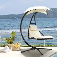 outsunny patio glider rocking chair 2