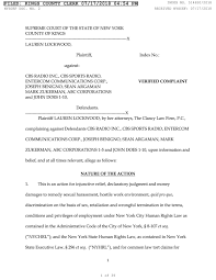 Sexual harrassment law suit