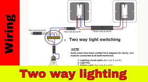 how to wire two way light switch two way lighting circuit youtube 2 gang 2 way lighting circuit wiring diagram how to wire two way light switch two way lighting circuit