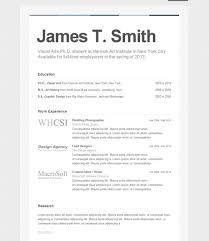 Resume Setup Examples