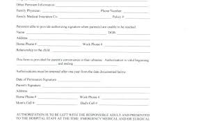 Daycare Emergency Contact Form Fresh Free Printable Forms