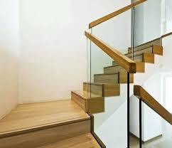 glass stair railings custom interior