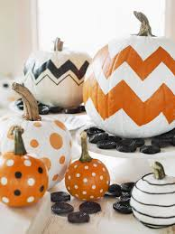 a frightfully sweet celebration party crafts and treats painted pumpkins