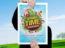 celebration flyer template. Spring Celebration Flyer Template by Marcus Vaz Dribbble