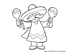 You need to explain them do not go out the lines. 11 Places To Find Free Cinco De Mayo Coloring Pages