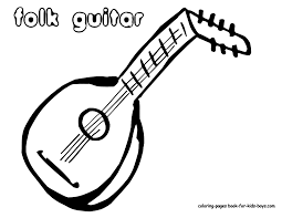 Uncommon Instruments Coloring Sheets Yahoo Image