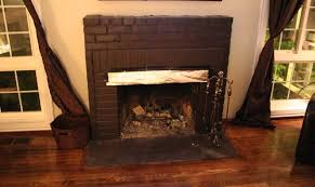 old brick fireplace revamp project showcase diy room home
