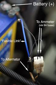 alternator wiring diagram ammeter alternator alternator wiring diagram ammeter alternator wiring on alternator wiring diagram ammeter
