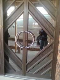 pictures of garage aluminium doors