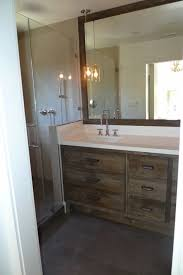 Distressed Bathroom Vanity Contemporary bathroom Artistic