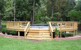 above ground swimming pool deck designs. Plain Above Deck Designs For Above Ground Swimming Pools  With Pool G