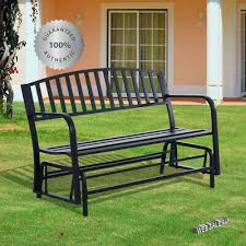 patio glider bench outdoor swing