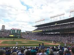 Cubs Wrigley Field Seating Chart Wrigley Field Section 111 Home Of Chicago Cubs