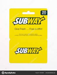 subway check gift card balance