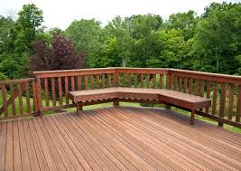 Types of deck railings Balusters Deck Railing Built In Seating Salter Spiral Stair Types Of Decorative Deck Railings Salter Spiral Stair