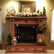 Spring Decorating Ideas Fireplace Mantel Wood Mantels Christmas. Fall  Decorating Ideas Fireplace Mantels Halloween ...