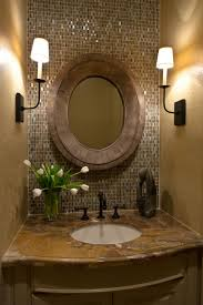 Mirror Tiles Decorating Ideas Cream Wall Paint Of Bathroom Idea Feat Mosaic Tiles Backsplash And 66