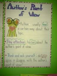 Author S Point Of View Anchor Chart Authors Point Of View Anchor Chart Authors Point Of View