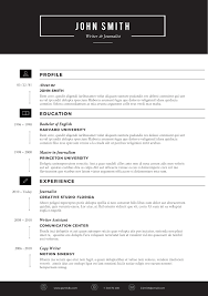 Attractive Resume Templates Free Download The Best Cv Resume Templates 100 Examples Design Shack Attractive 50