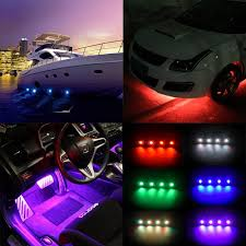 Led Lights For Under Truck Us 69 0 Rgb Rock Neon Led Lights Kits Bluetooth Control Cell Phone Control Under Cars Off Road Truck Suv For Jeep Vehicle Boat Interior On